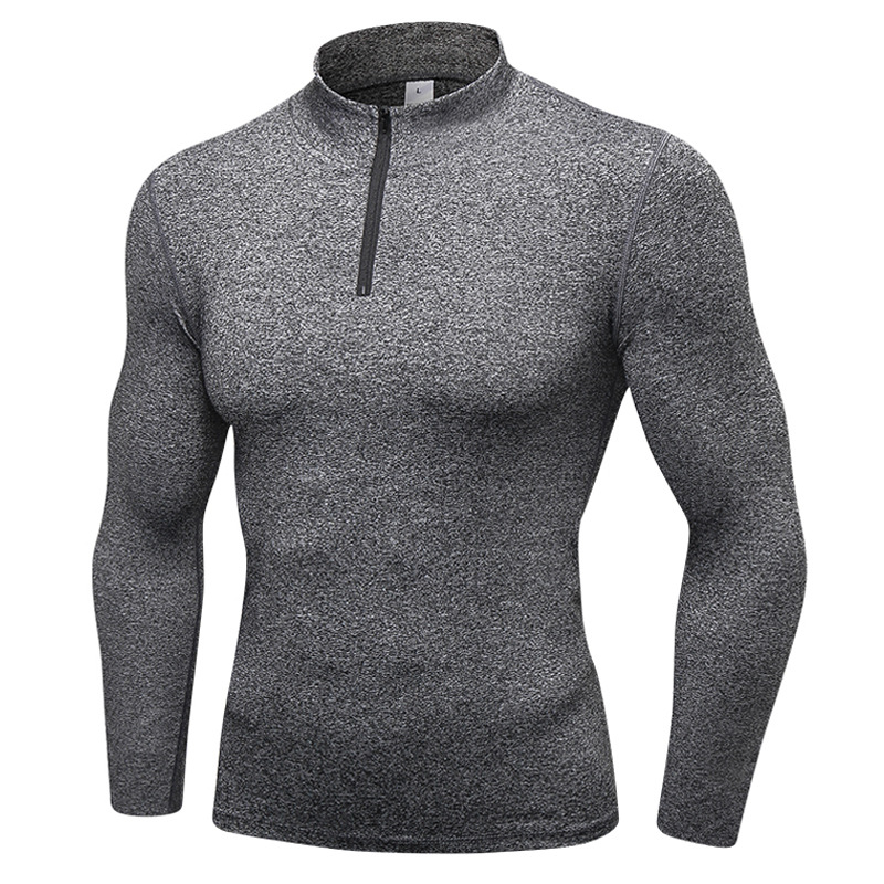 <b>Perfect Men Fitness Clothing Sports Turtle Neck Pullover Ru</b>