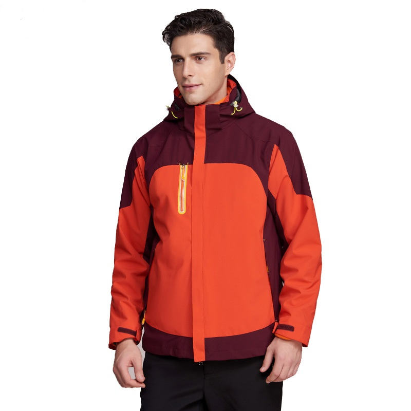 Customize Hooded 3 in 1 Skiing Outdoor jacket Down Feather Z